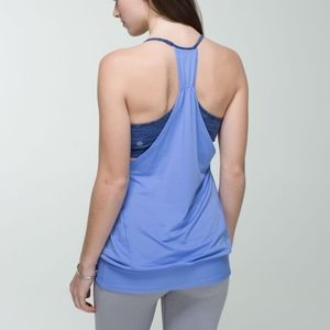 Lululemon No Limit Tank Lullaby Wee are from Space